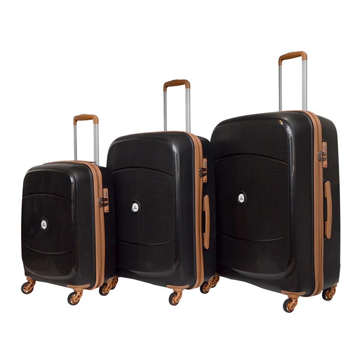 مجموعه سه عددی چمدان اسکن مدل PQ002