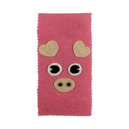 پاکت هدیه سورتک طرح خوک مدل STTH129