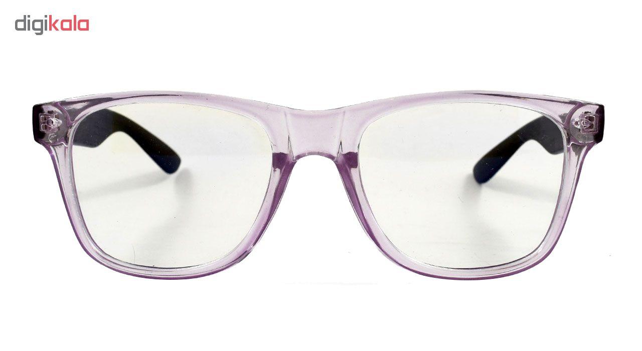 فریم عینک طبی مدل Transparent Wayfarer 2140
