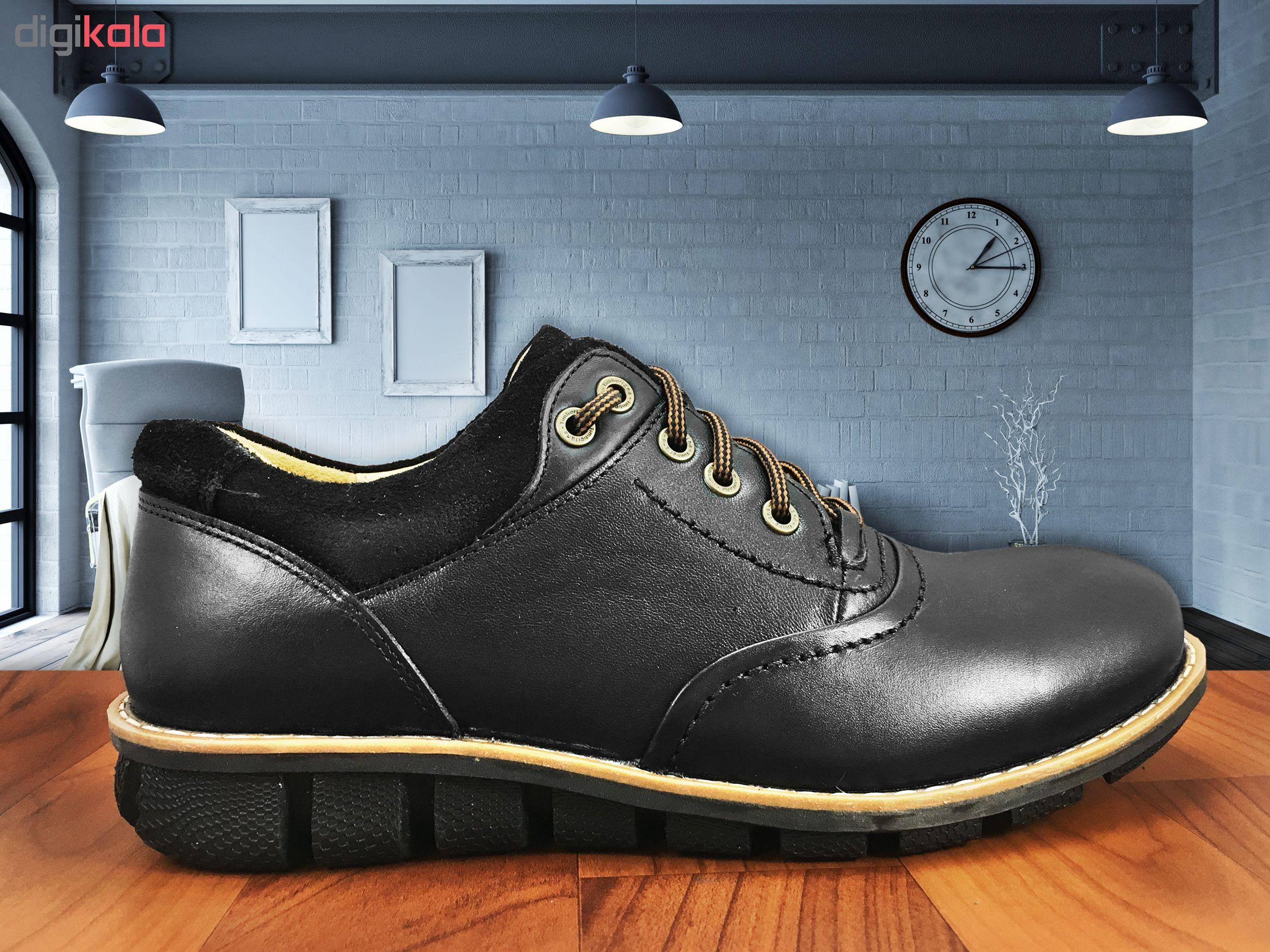 کفش مردانه البرز مدل آلفرد کد 3745