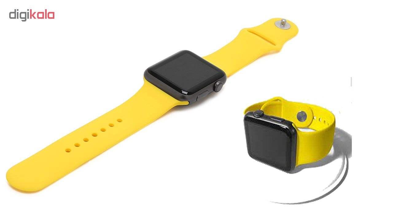 ساعت هوشمند مدل  iWO-s  همراه دو بند اضافه نایک و محافظ صفحه نمایش و بگ شیدتگ main 1 13