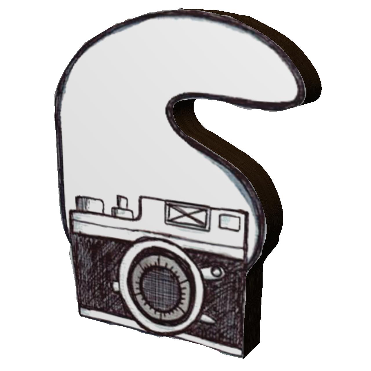 استیکر طرح دوربین کد 9