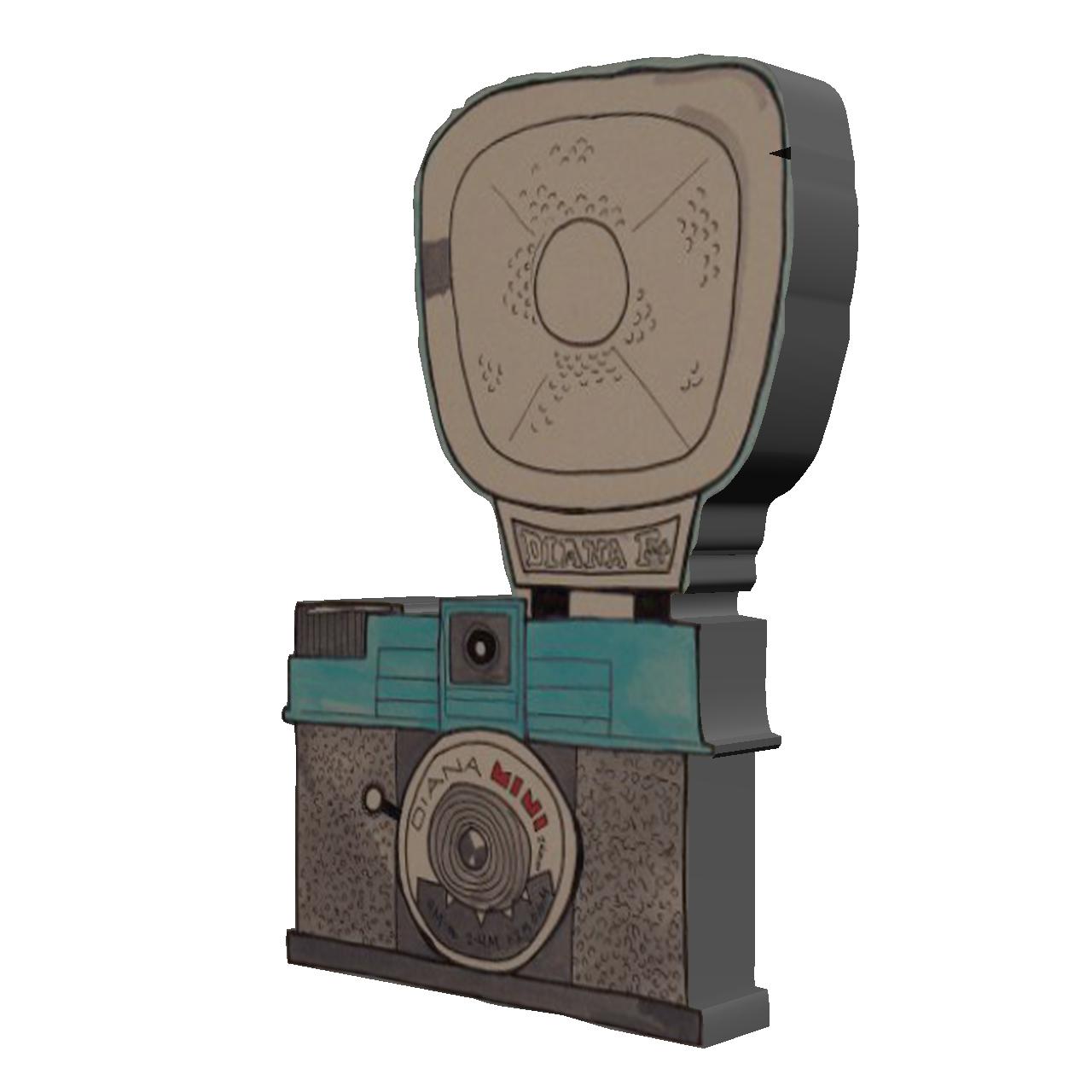 استیکر طرح دوربین کد 18