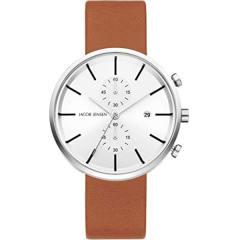 ساعت مچی عقربه ای مردانه جیکوب جنسن مدل Linear Series 622