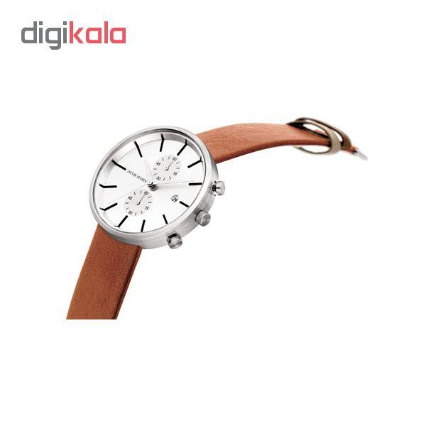 کد تخفیف                                      ساعت مچی عقربه ای مردانه جیکوب جنسن مدل Linear Series 622