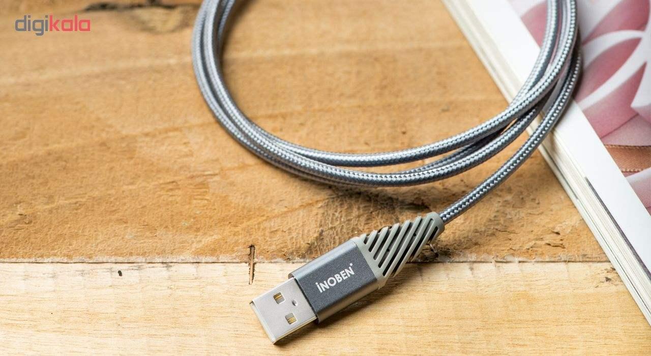 کابل تبدیل USB به USB-C کنفی آینوبن مدل Braided طول 1.2 متر main 1 2