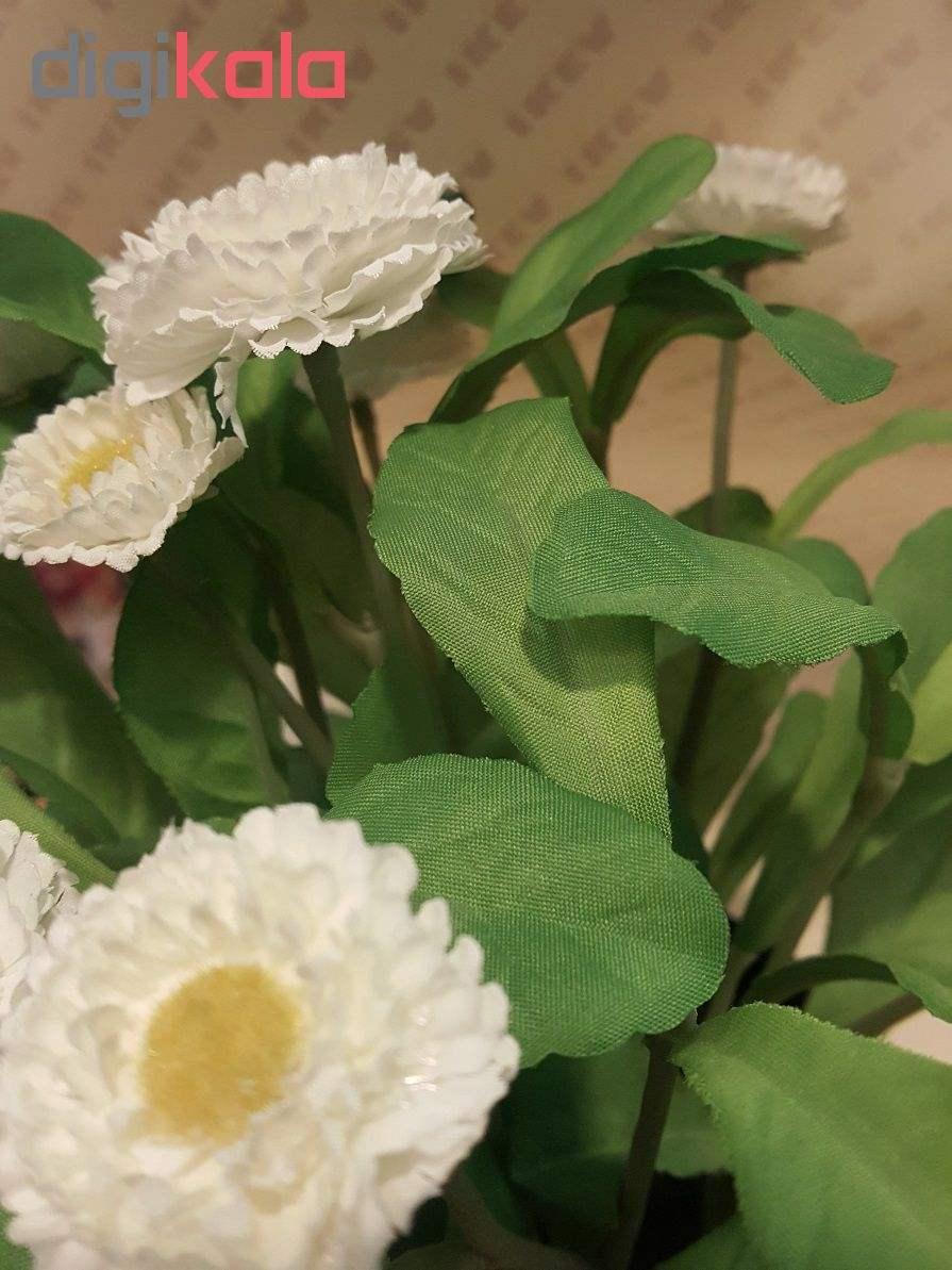 گلدان با گل مصنوعی ایکیا مدل Fejka 70234147  thumb 7