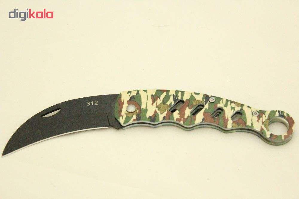چاقو سفری مدل Tactical Ep01