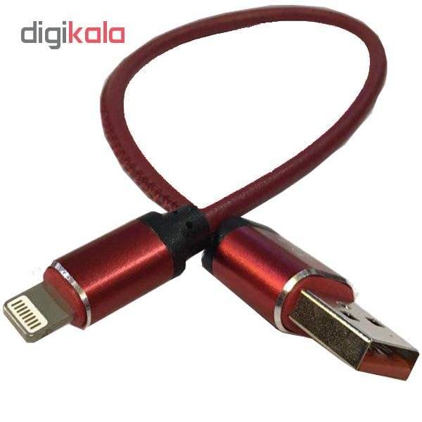کابل تبدیل USB به لایتنینگ مدل pu-smile طول 0.3 متر مناسب ایفون main 1 3