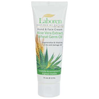کرم مرطوب کننده لابورن مدل Aloe Vera Extract حجم 75 میلی لیتر