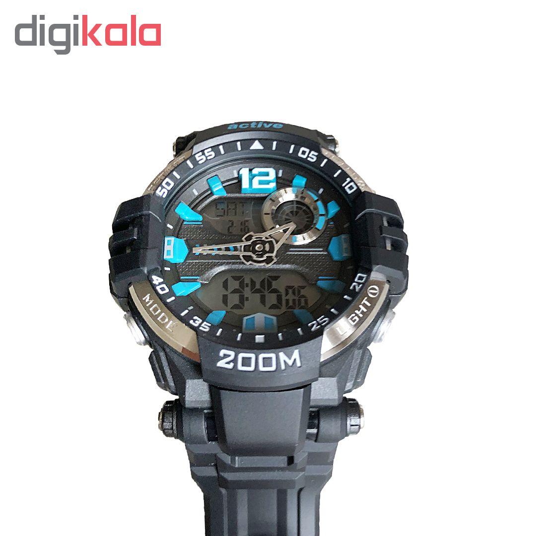 ساعت مچی دیجیتال مردانه اکتیو مدل YP17732