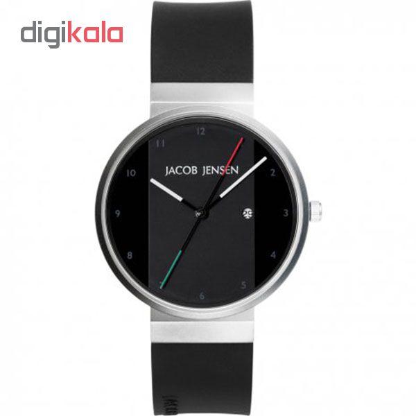 کد تخفیف                                      ساعت مچی عقربه ای جیکوب جنسن مدل New Series