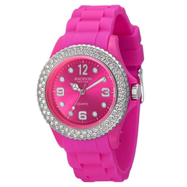 ساعت مچی عقربه ای زنانه مدیسون مدل U4101H2