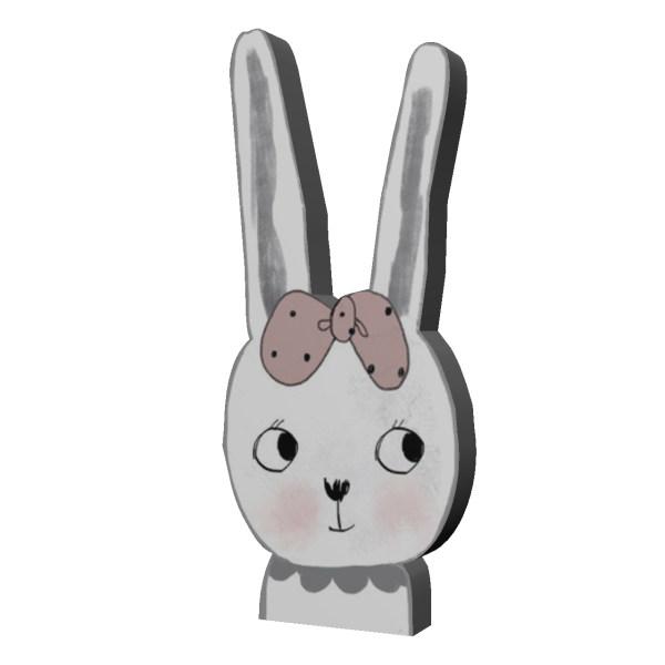 پیکسل طرح خرگوش کد 18