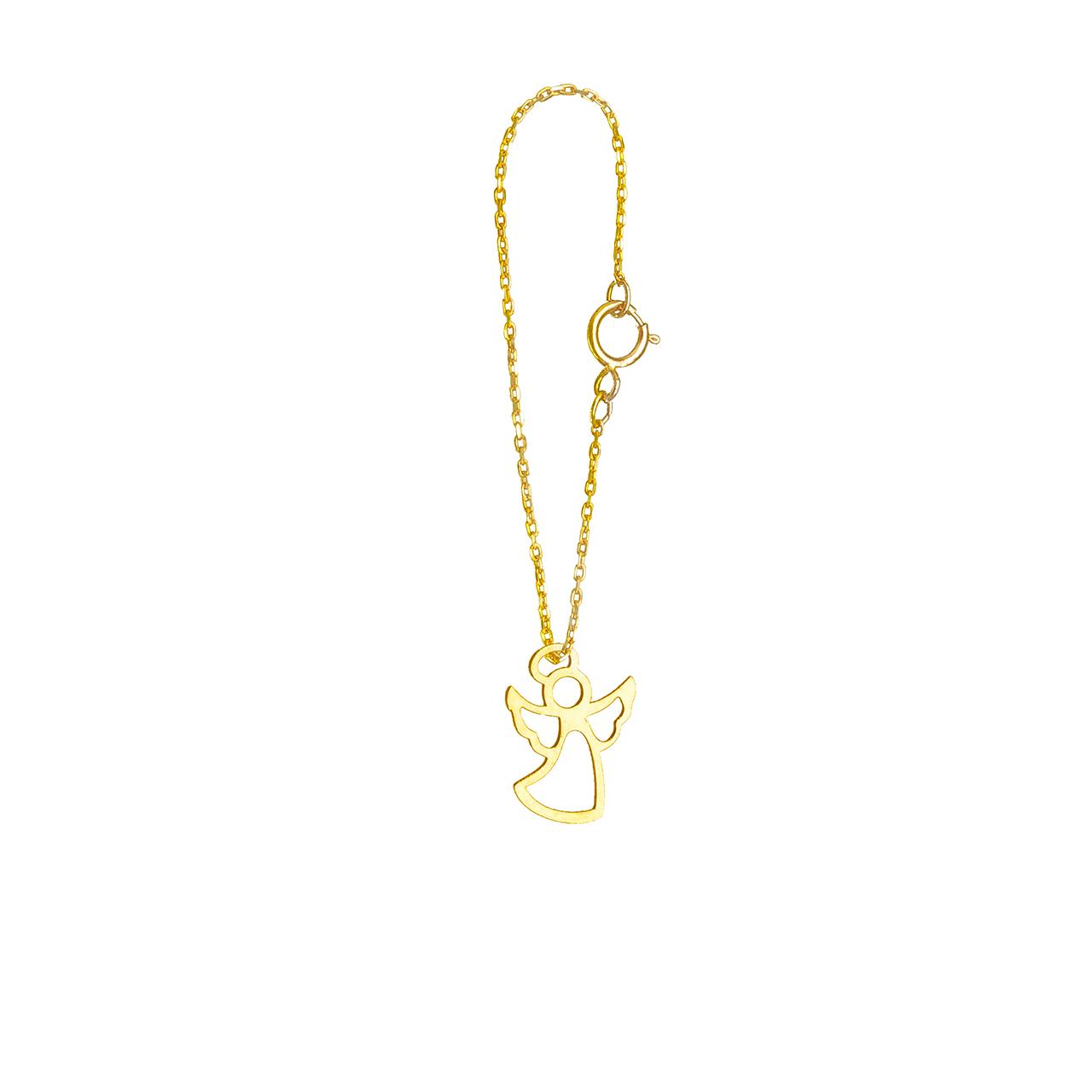 قیمت آویز ساعت طلا 18 عیار گالری فرنود مدل WP13