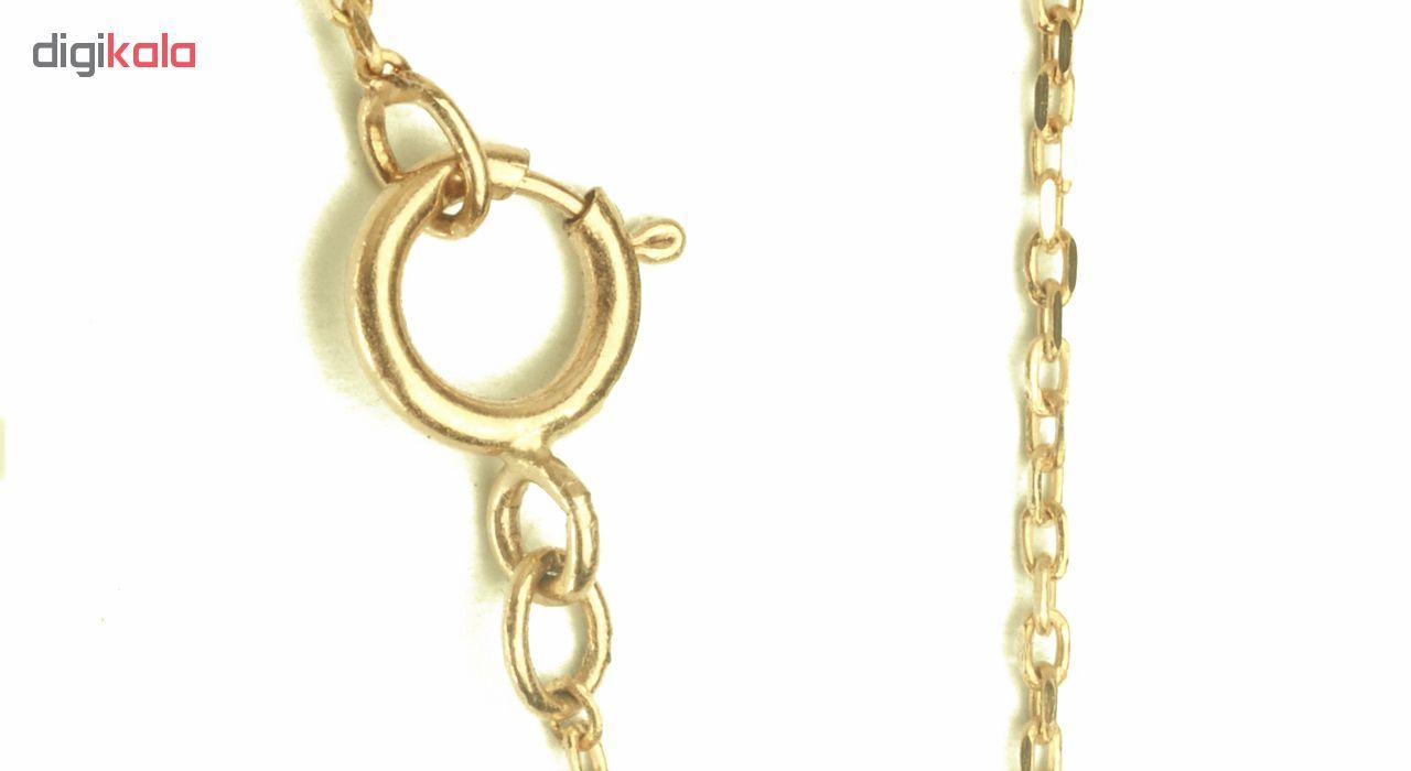 خرید آویز ساعت طلا 18 عیار گالری فرنود مدل WP13
