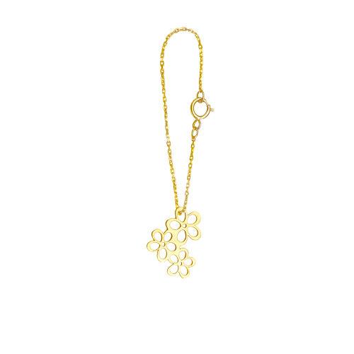 آویز ساعت طلا 18 عیار گالری فرنود مدل WP19