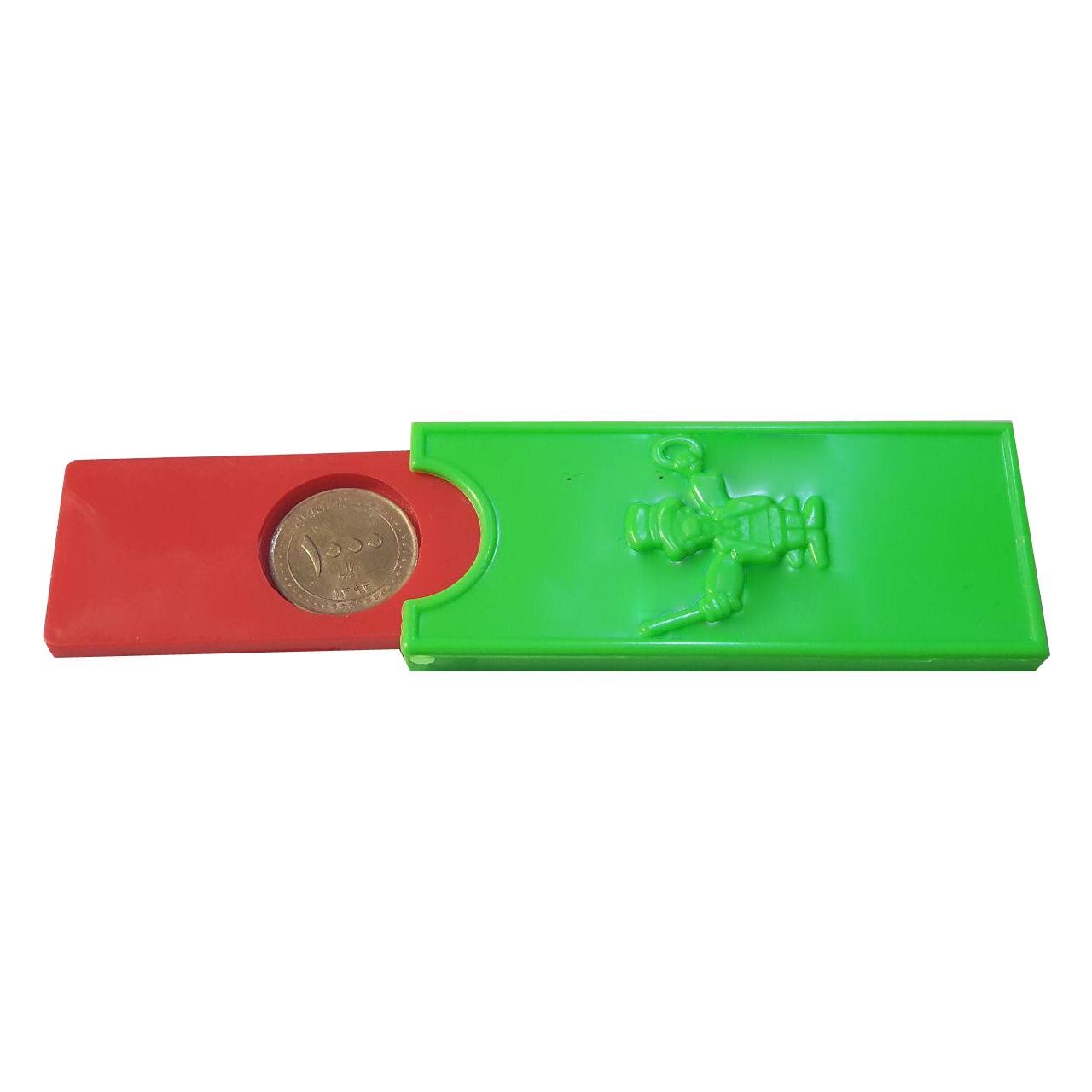 ابزار شعبده طرح جعبه ضرب سکه DSK