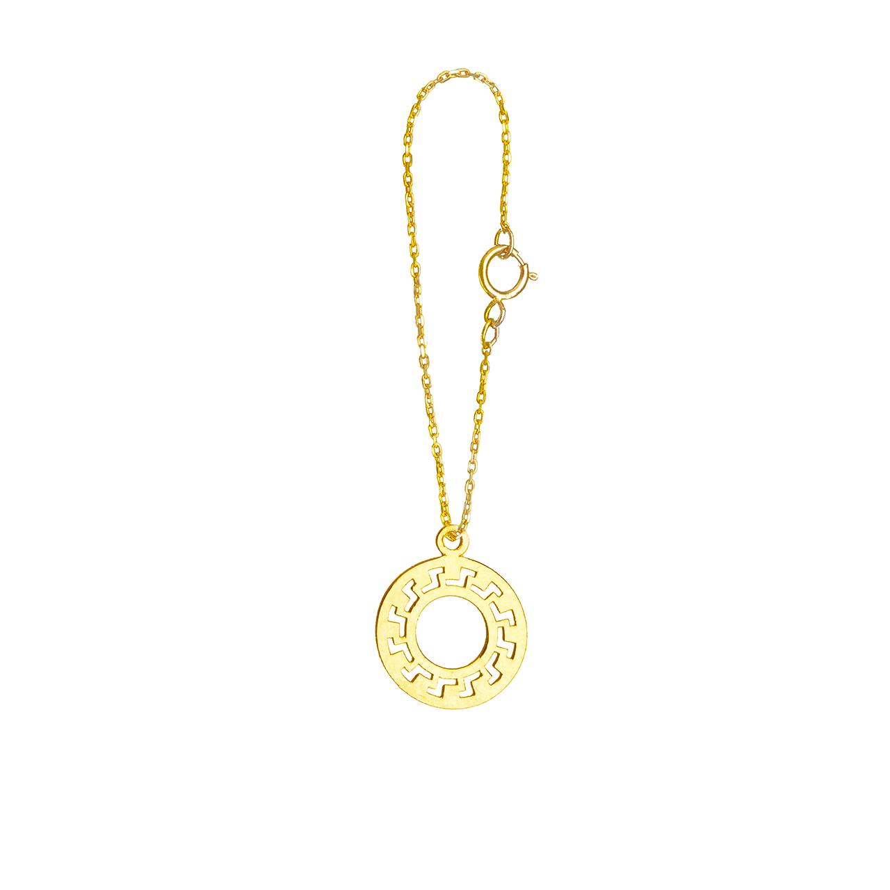 آویز ساعت طلا 18 عیار فرنود مدل WP36