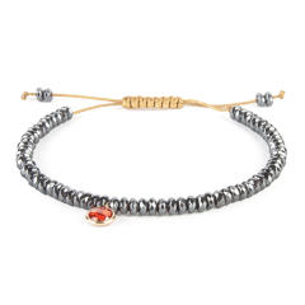 قیمت دستبند زنانه طلا 18 عیار ریسه گالری مدل Ri3-H1114-Gold