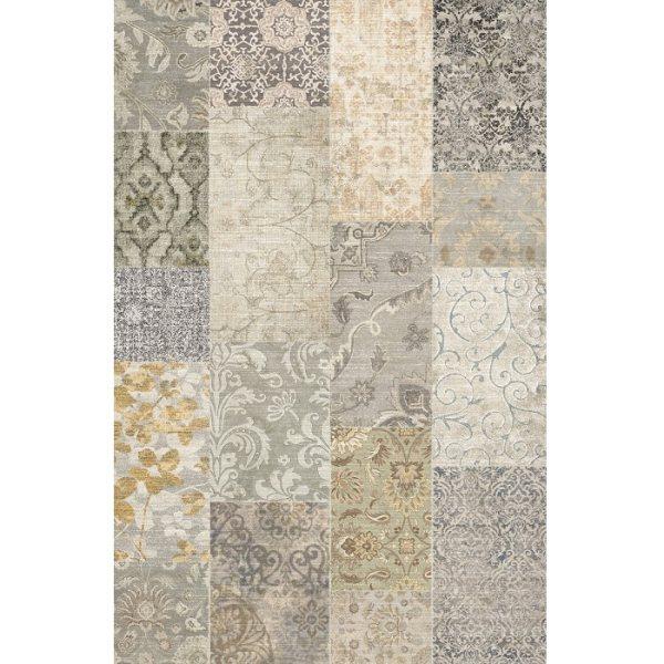 فرش ماشینی فرش ابریشمی کرامتیان طرح آرتینه چهل تیکه کد 59102