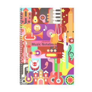دفتر نت موسیقی 40 برگ مکث نوت مدل 3772
