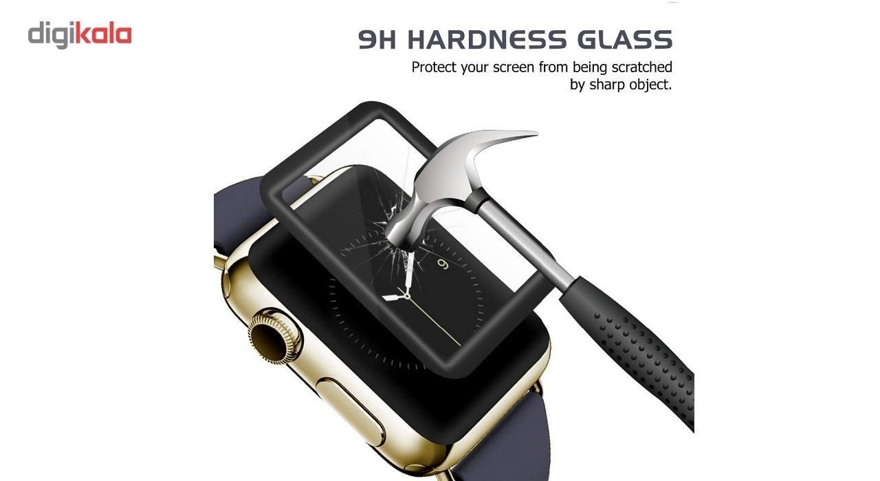 محافظ صفحه نمایش مدل 4D مناسب اپل واچ 42 میلی متری thumb 4