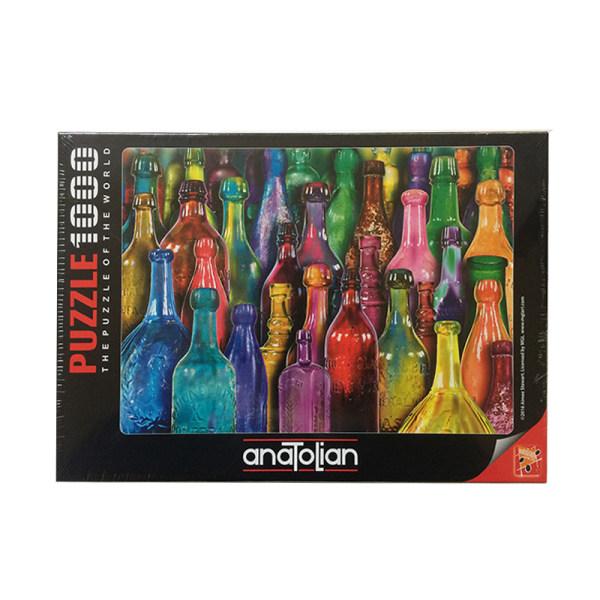 پازل 1000 تکه آناتولین طرح Colorful Glass کد 1031