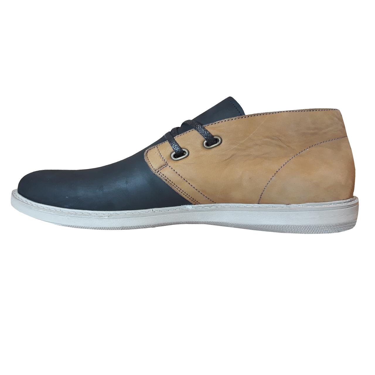 کفش مردانه چرم طبیعی CAT مدل c1