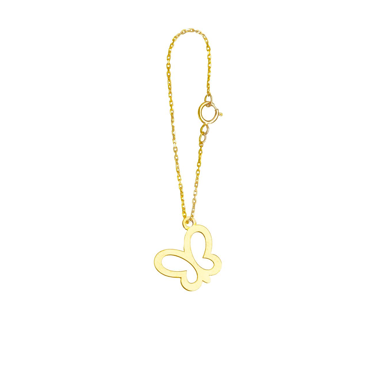 آویز ساعت طلا 18 عیار گالری فرنود مدل WP42
