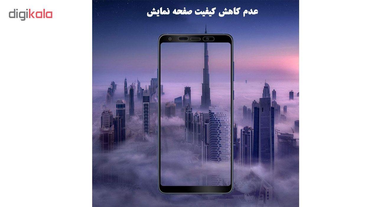 محافظ صفحه نمایش 5D هورس مدل FAG مناسب برای گوشی موبایل سامسونگ Galaxy A9 2018              ( قیمت و خرید)