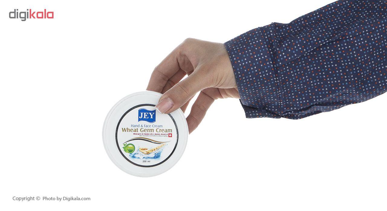 خرید                      کرم دست و صورت جی مدل wheat Germ حجم 200 میلی لیتر