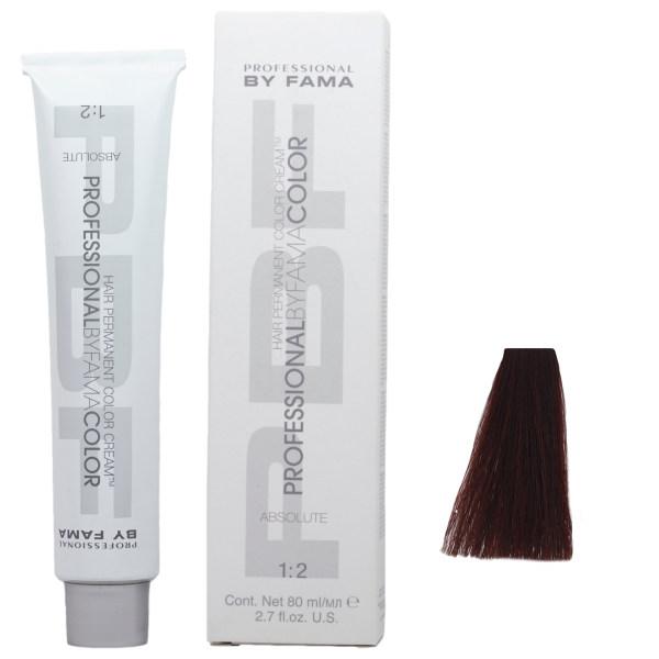 رنگ مو پروفشنال بای فاما سری ابسولوت شماره 5.43 حجم 80 میلی لیتر رنگ ماهاگونی روشن