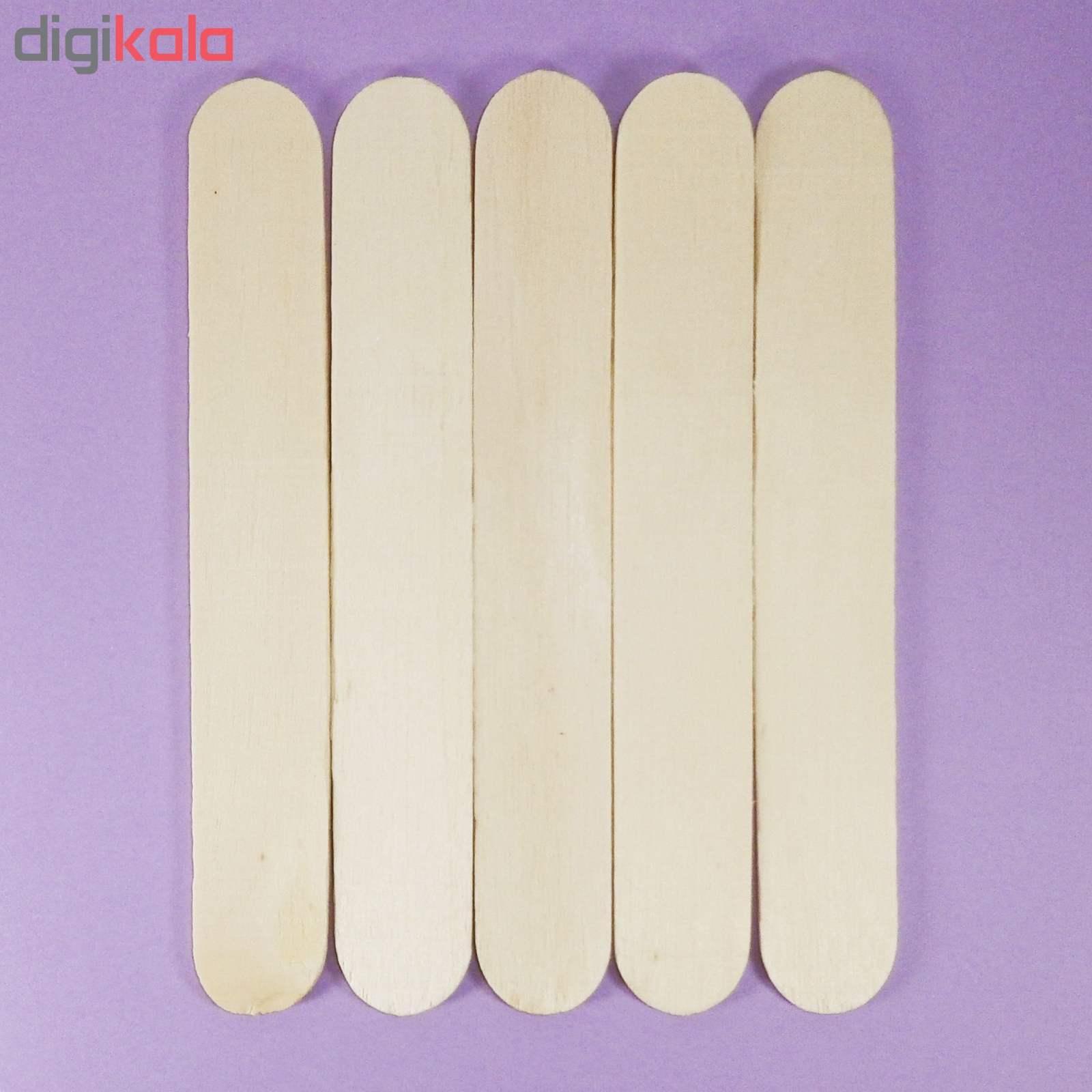 چوب بستنی پهن مدل P3001_01 بسته 40 عددی thumb 1