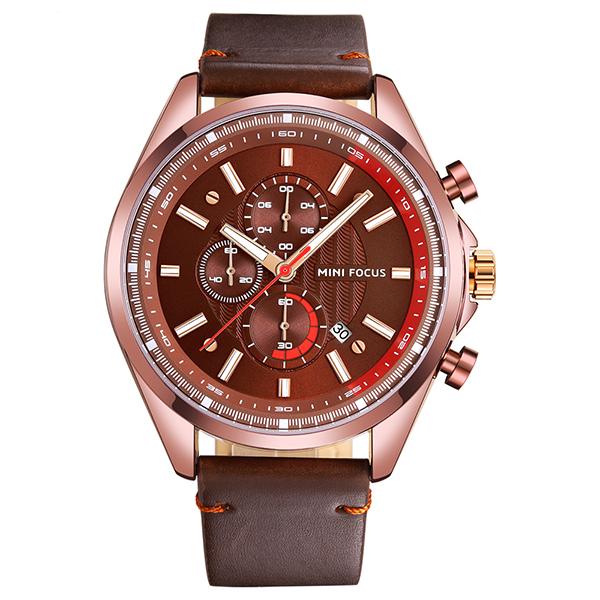 ساعت مچی عقربه ای مردانه مینی فوکوس مدل mf0080g.01