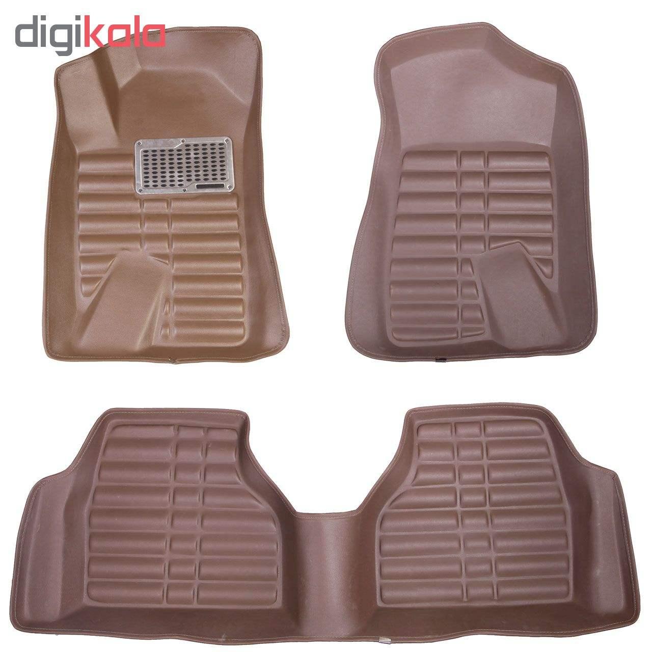 کفپوش سه بعدی خودرو مدل پالیز مناسب برای دنا-سمند-پژو 405-پارس thumb 9
