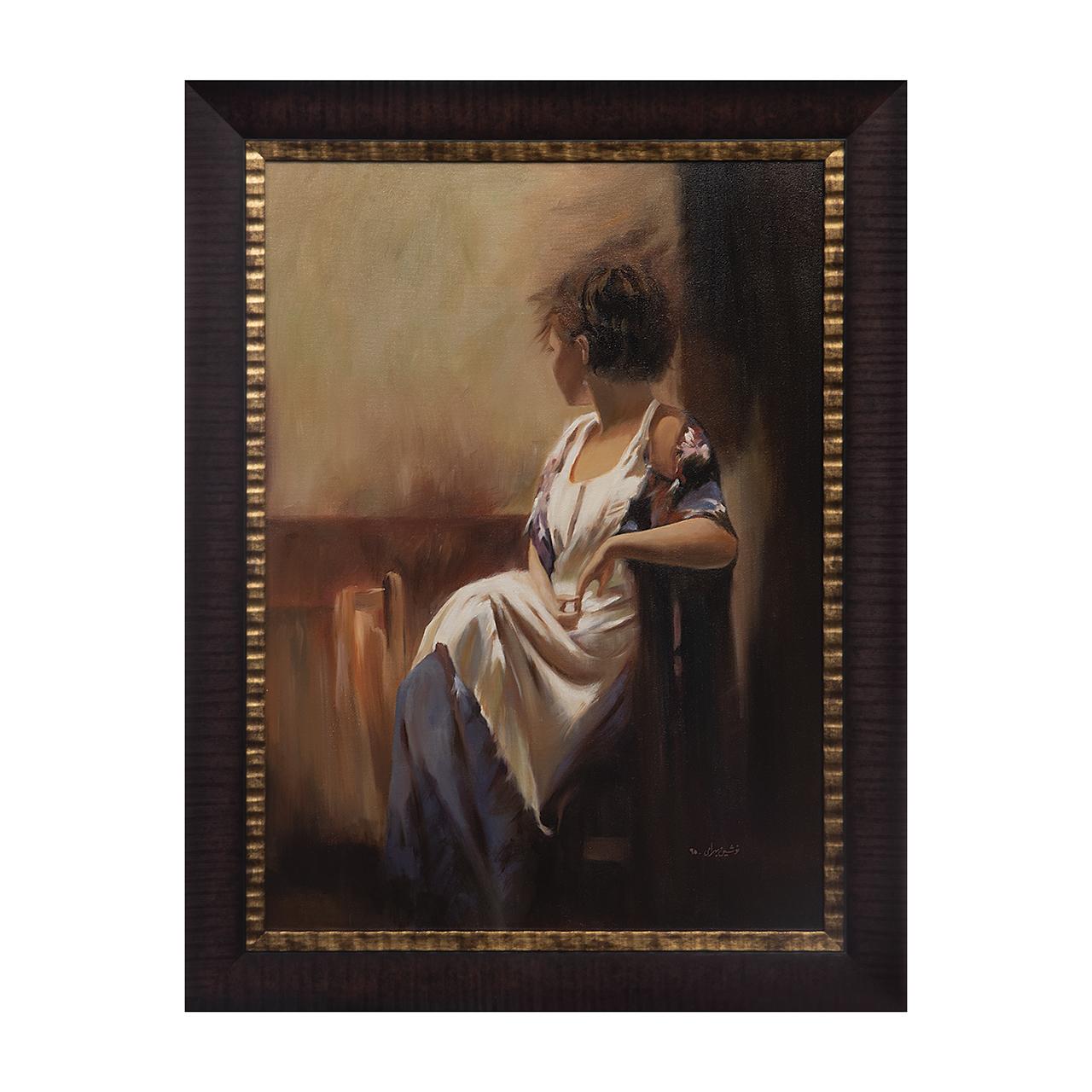 خرید                      تابلو نقاشی رنگ روغن مدل D03-A