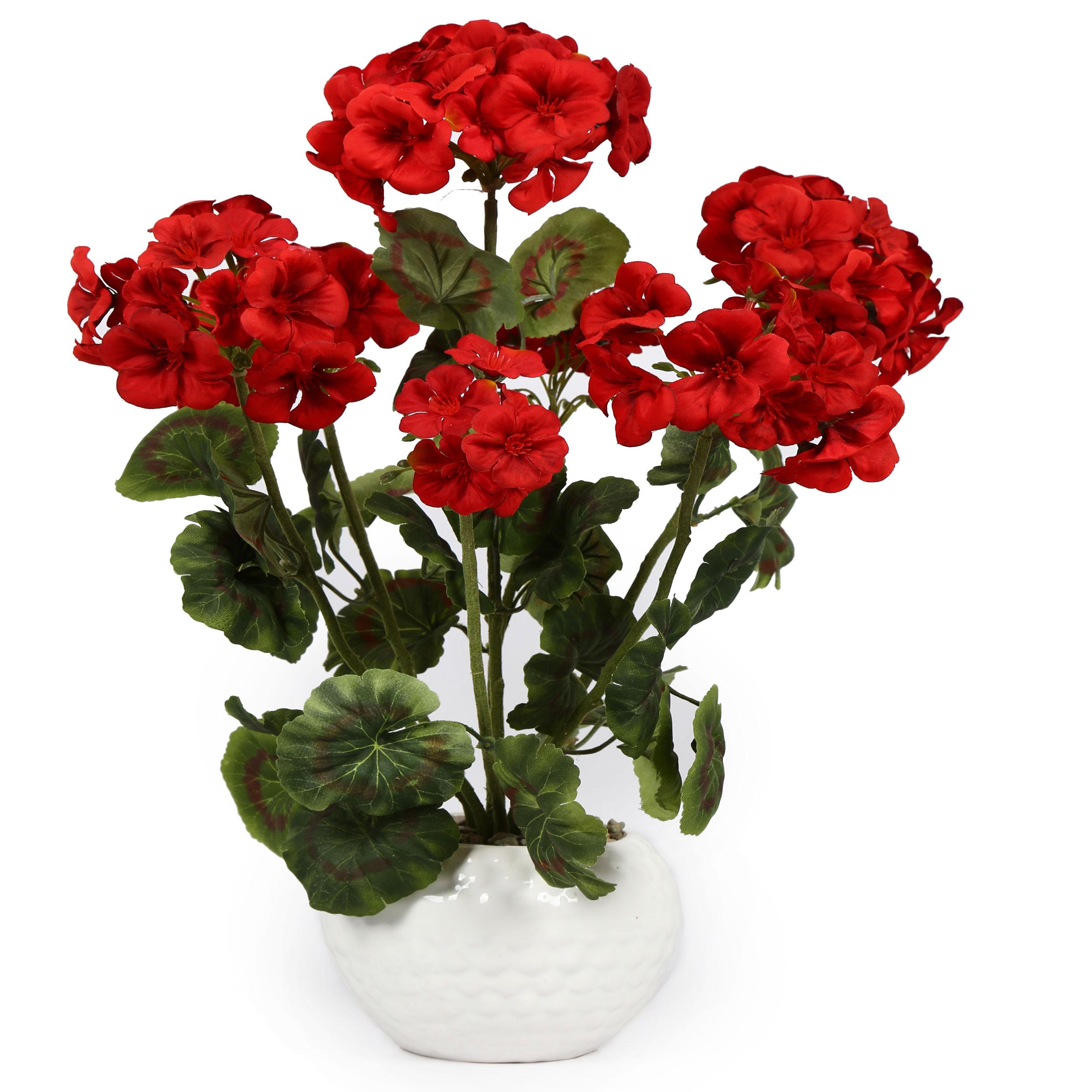 گلدان به همراه گل مصنوعی هومز کد 50147