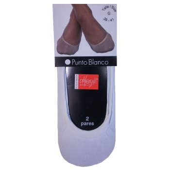 جوراب زنانه پونتو بلانکو کد 000-156400T بسته 2 عددی