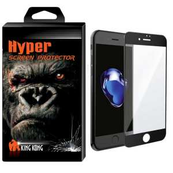 محافظ صفحه نمایش نانو گلس کینگ کونگ مدل 6D مناسب برای اپل آیفون 7plus/8plus