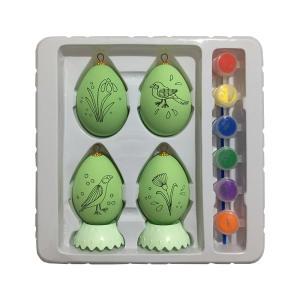 تخم مرغ تزئینی سورتک مدل STA195 مجموعه 4 عددی