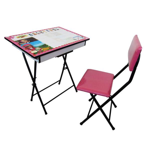 میز تحریر و صندلی باکس دار طرح میشی