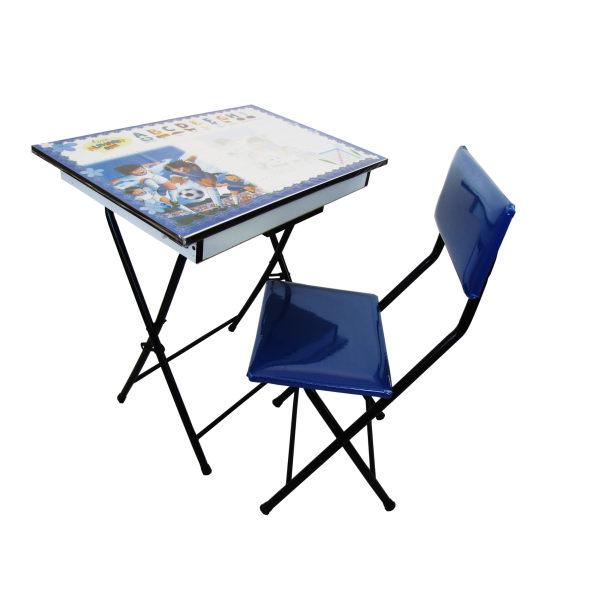 میز تحریر و صندلی طرح فوتبالیستها