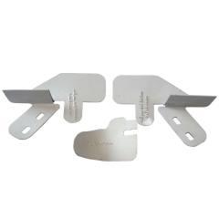 محافظ درب خودرو ایمن صنعت مدل 110 مناسب برای تیبا بسته 2 عددی به همراه محافظ درب کاپوت