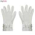 دستکش نخی زنانه تاچ اسکرین دالیا مدل T2 thumb 3