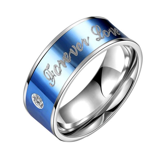 انگشتر زنانه طرح عشق همیشگی FOREVER LOVE کد R096