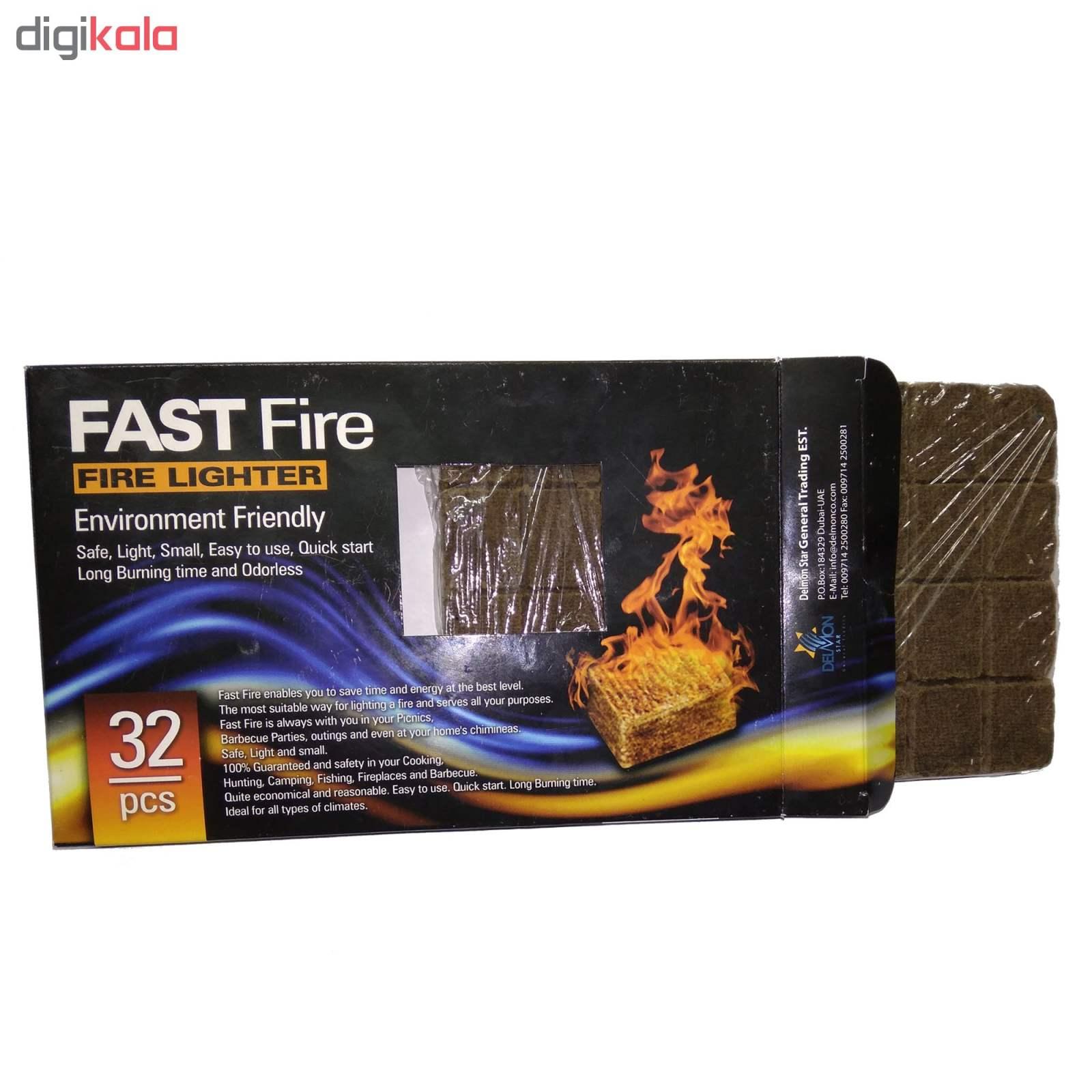 آتشزنه فست فایر مدل p2 بسته 32 عددی main 1 1