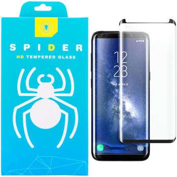 محافظ صفحه نمایش 3D اسپایدر مدل SH23 مناسب برای گوشی موبایل سامسونگ Galaxy S8 پلاس