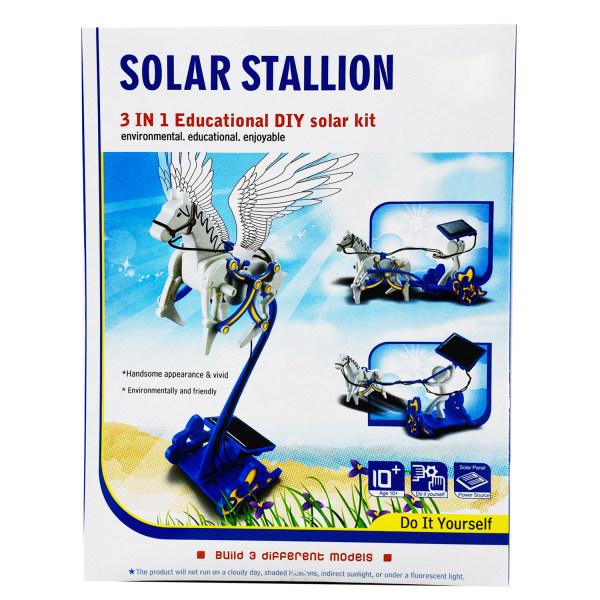 بازی آموزشی مدل کیت خورشیدی Solar Stallion 3in1