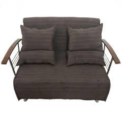 مبل تخت خواب شو(کاناپه تختخواب شو، تختخوابشو) دونفره آیسان مدل ساپنا2